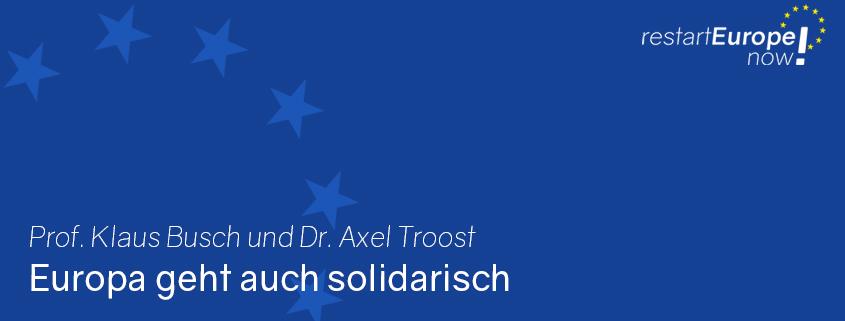 Europa geht auch solidarisch